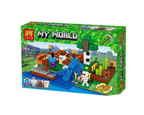Конструктор Lele Minecraft 33184 Ферма с водопадом
