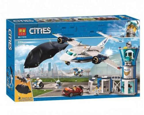 Конструктор Bela Cities 11210 Воздушная полиция: авиабаза