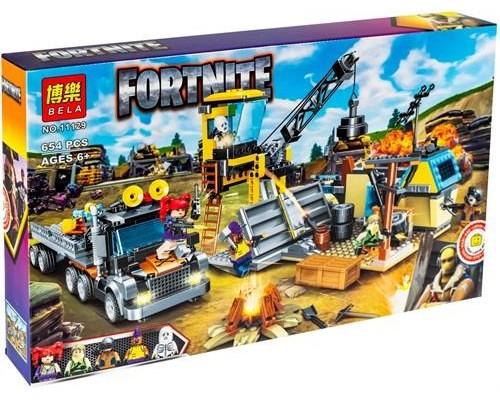 Конструктор Bela 11129 Fortnite Оборона шахты
