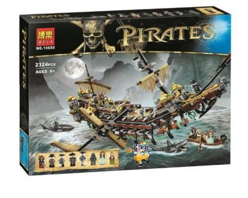 Конструктор Пираты Карибского моря Bela 10680 Безмолвная Мэри