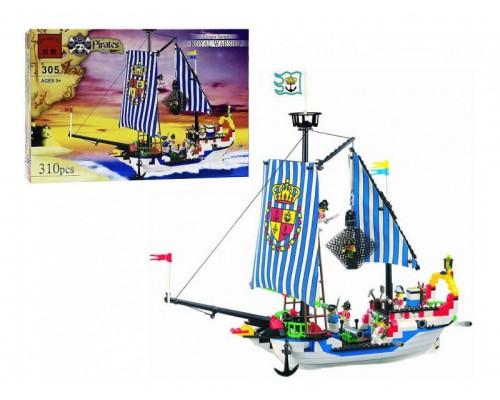 Конструктор Brick 305 Королевский пиратский корабль