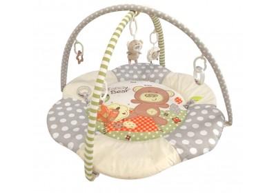 Коврик развивающий Baby Mix Мишка 3348C-4678