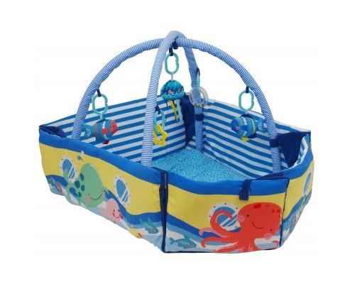 Коврик развивающий Baby Mix Лодка с бортиками TK 3462C-EU00