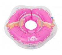 Круг на шею для купания малышей Roxy-kids Flipper 3D балерина