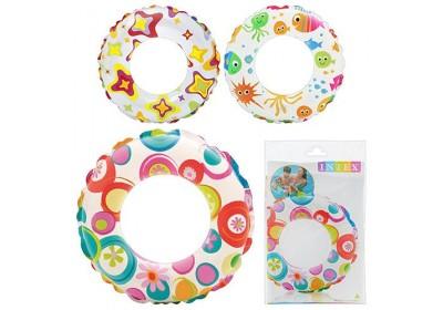 Детский надувной круг Intex 59230 3 цвета