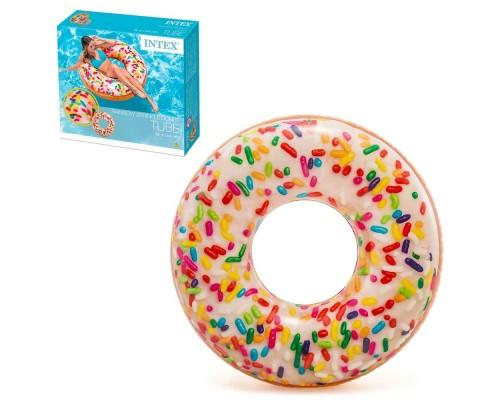 Надувной круг для плавания Intex 56263 Пончик