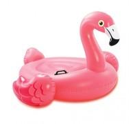 Плотик Intex 57558 Розовый фламинго  142*137*97 см