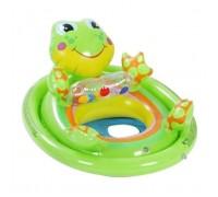 Детский круг плотик Лягушка Intex 59570
