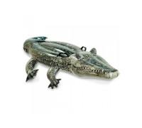 Плотик Аллигатор с ручками Intex 57551