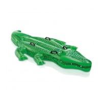 Плотик Крокодил с ручками Intex 58546