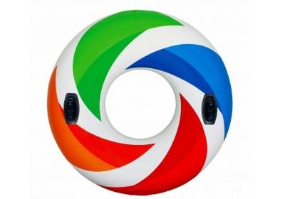 Надувной круг с ручками Intex 58202 119 см