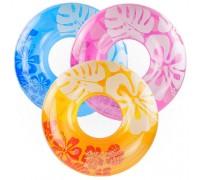 Надувной круг Intex 59251 3 цвета 91 см