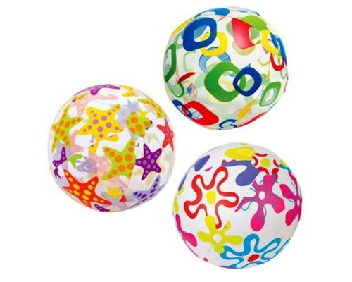Мяч надувной Intex 59050 3 цвета
