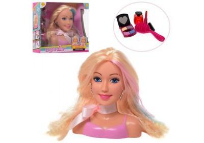 Манекен кукла для причесок и макияжа DEFA 8401