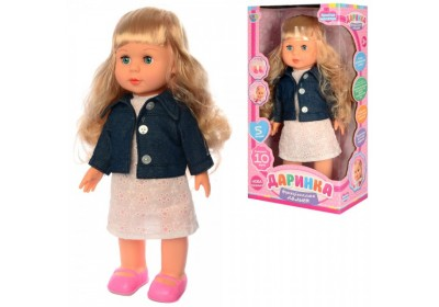 Кукла Даринка интерактивная 3882