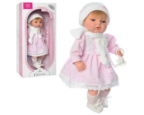 Кукла Berbesa Испания 4308R высота 39 см