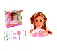 Манекен кукла для причесок и макияжа DEFA 8056