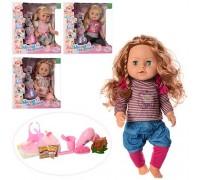 Кукла пупс Милая сестренка R317013 со звуком 4 вида