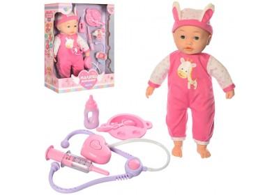 Кукла пупс сенсорный  Малятко М4034