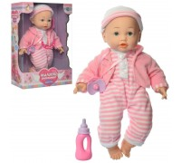 Кукла пупс с мимикой Малятко М3880-1