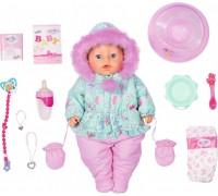 Кукла пупс Baby Born Нежные объятия Зимняя малышка 831281