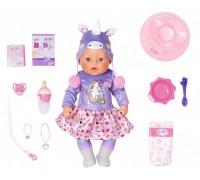 Кукла пупс Baby Born Нежные объятия Очаровательный единорог 831311
