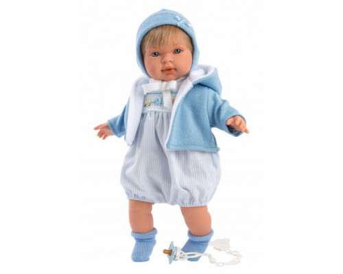 Кукла Llorens плачущий мальчик Мигель 42153 42 см