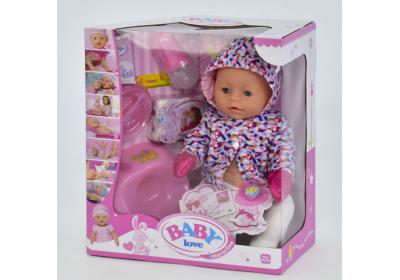 Пупс Baby Love с аксессуарами BL023S