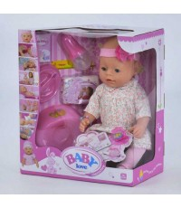Пупс Baby Love с аксессуарами BL020B