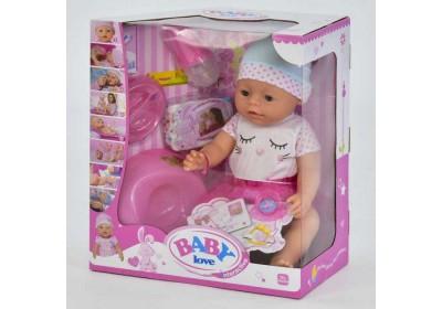 Пупс Baby Love с аксессуарами BL023D
