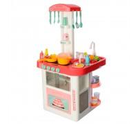 Кухня детская с водой, звуком и светом 889-59-60 коралловая