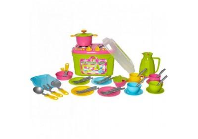 Кухонный набор в чемодане 9 3596 Технок
