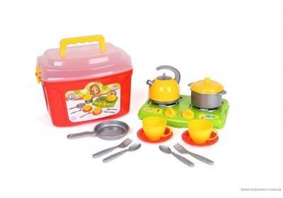 Кухонный набор в чемодане 5934 Технок 10