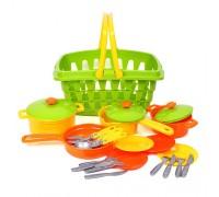 Набор посуды в корзине Технок 4456