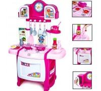 Кухня детская Kitchen WD-P19-R19 розовая