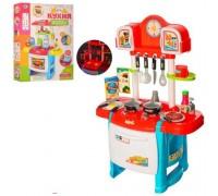 Кухня детская Kitchen WD-P19-R19 голубая