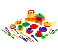 Набор посуды Юника 34 предмета 1047
