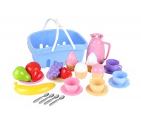 Набор посуды в корзине Технок 7242