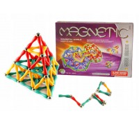 Конструктор магнитный палочки и шарики 6816 130 элементов