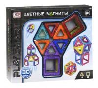 Магнитный конструктор Play Smart 30 деталей 2427