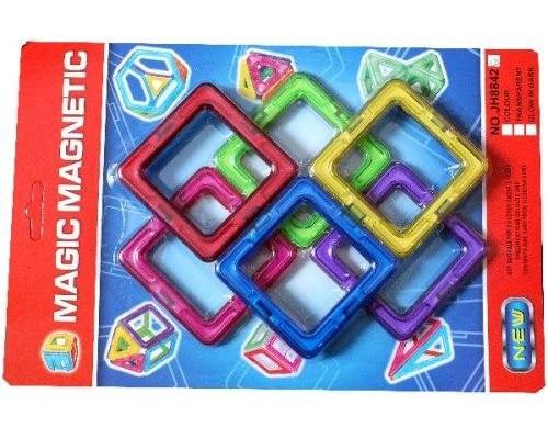 Магнитный конструктор Magic Magnetic 6 деталей JH8842E