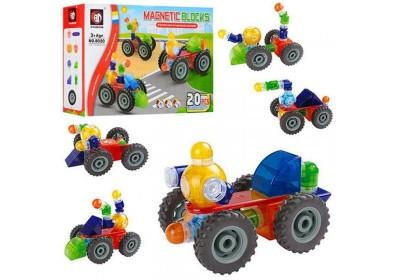 Магнитный конструктор Magnetic Blocks 20 деталей 8020