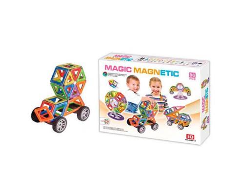 Магнитный конструктор Magic Magnetic JH8612 86 деталей