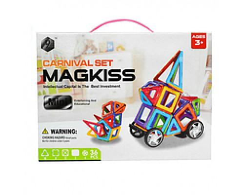 Магнитный конструктор Magkiss Mini 36 деталей