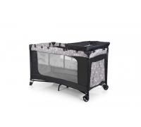 Манеж-кроватка EL Camino Safe Plus ME 1054 с пеленатором и двойным дном