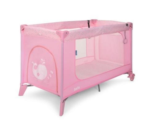 Манеж кровать El Camino SAFE 1016 Heart pink