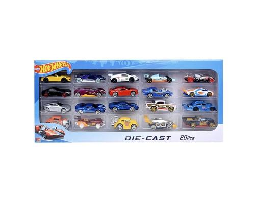 Набор машинок игрушечных Hot Wheel 698-20