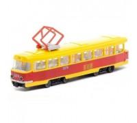 Модель трамвай BIG Технопарк SB-17-18WB