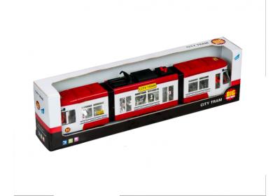 Городской трамвай инерционный Big Motors 1258