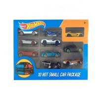 Набор машинок игрушечных Hot Wheel 10 штк 1156 (аналог)